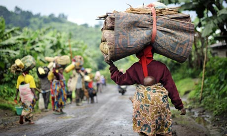 Tens of thousands flee 'extreme violence' in Congo