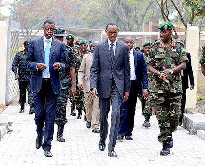 International Community messed up Congo, says Kagame:What a contradiction? before his 7 year term he will have told us every thing.