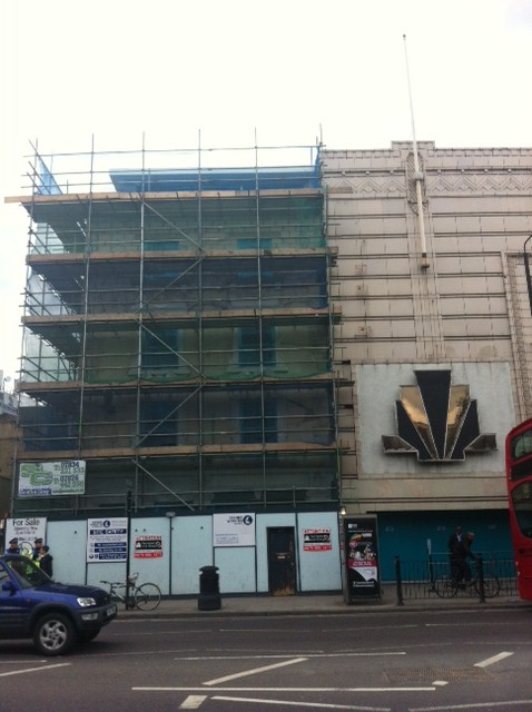 Kagame's Troxy where Rwanda day was held is still under construction. God gracious