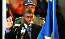 The Democratic Republic of Congo government Wednesday deployed hundreds of soldiers and tanks along its frontier with M23 rebels territory creating up new tensions in the war-torn country.