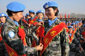 16th Chinese peacekeeping force to Congo (K) sets out