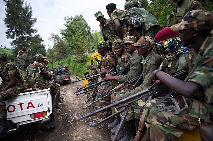 Democratic Republic of Congo rebels inch toward peace