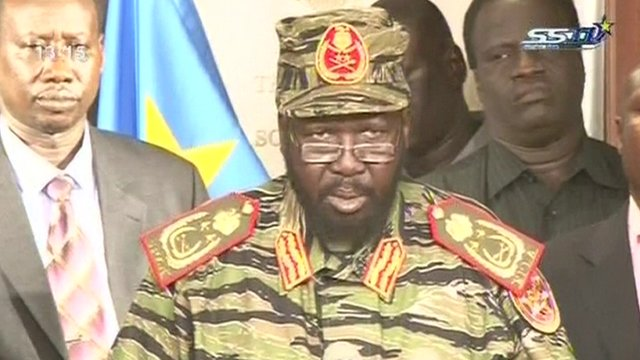 South Sudan president says coup attempt defeated