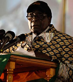 Party members to choose successor: Mugabe