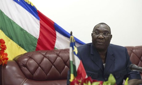 Central African Republic president to step down