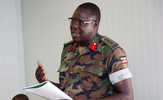 Col Innocent Oula Replaces Tinyefuza