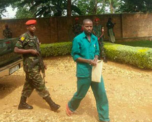 PS Imberakuri Concerned about Lt Mutabazi and his co accused