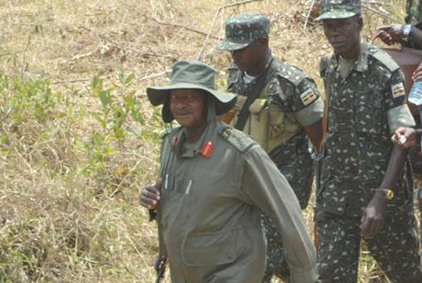 I am not a classroom general to be easily forced out – Museveni