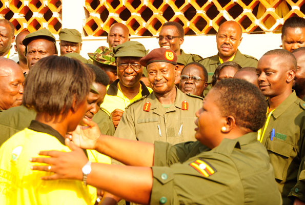 Museveni ready for battle on gays