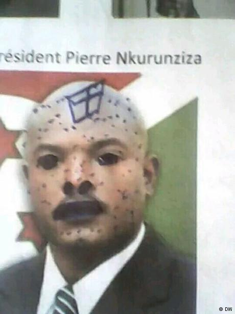 Students still detained over defacing Burundian president's photo