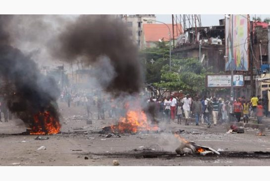 STREET CLASHES, ELECTION PROTESTS IN CONGO KILL AT LEAST 25