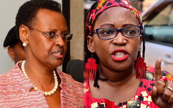 Dr Nyanzi sacked for insulting Janet Museveni