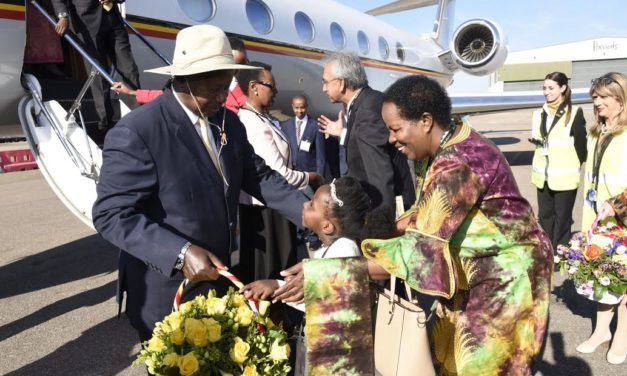 Museveni in London for Conference on Somalia