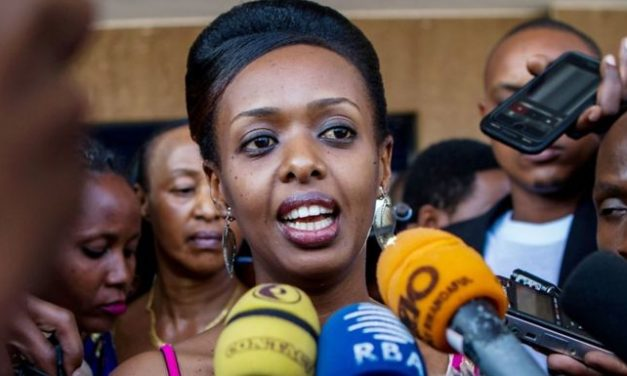 Arrested Rwandan politician Diane Rwigara released