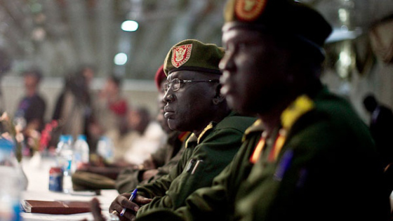 U.S. Sanctions South Sudan Military Chiefs