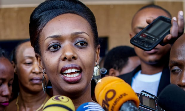 Rwandan president's challenger charged with inciting insurrection