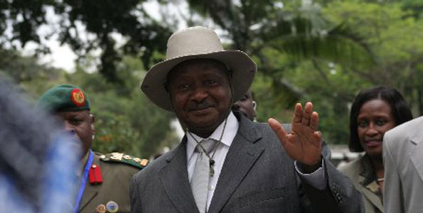 Museveni tells Ugandans to devote more time to work instead of prayers