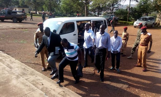Security Tightened as 'Rwanda Extraditions' Suspects Return to Army Court