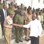 Museveni, Regional Chiefs of Defence Forces Discuss ADF at State House